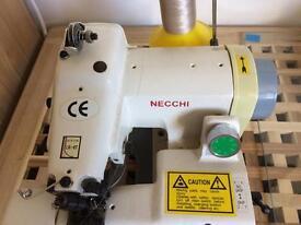 Blind hemmer sewing machine