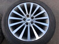 Used Range Rover wheels and Tyres package