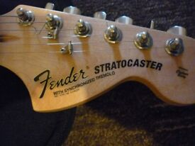 Fender Squier Stratocaster with case