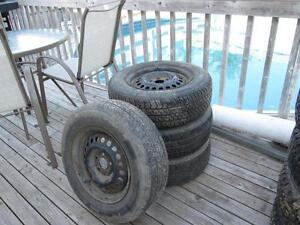 4 all season tires on rims 195/70/14