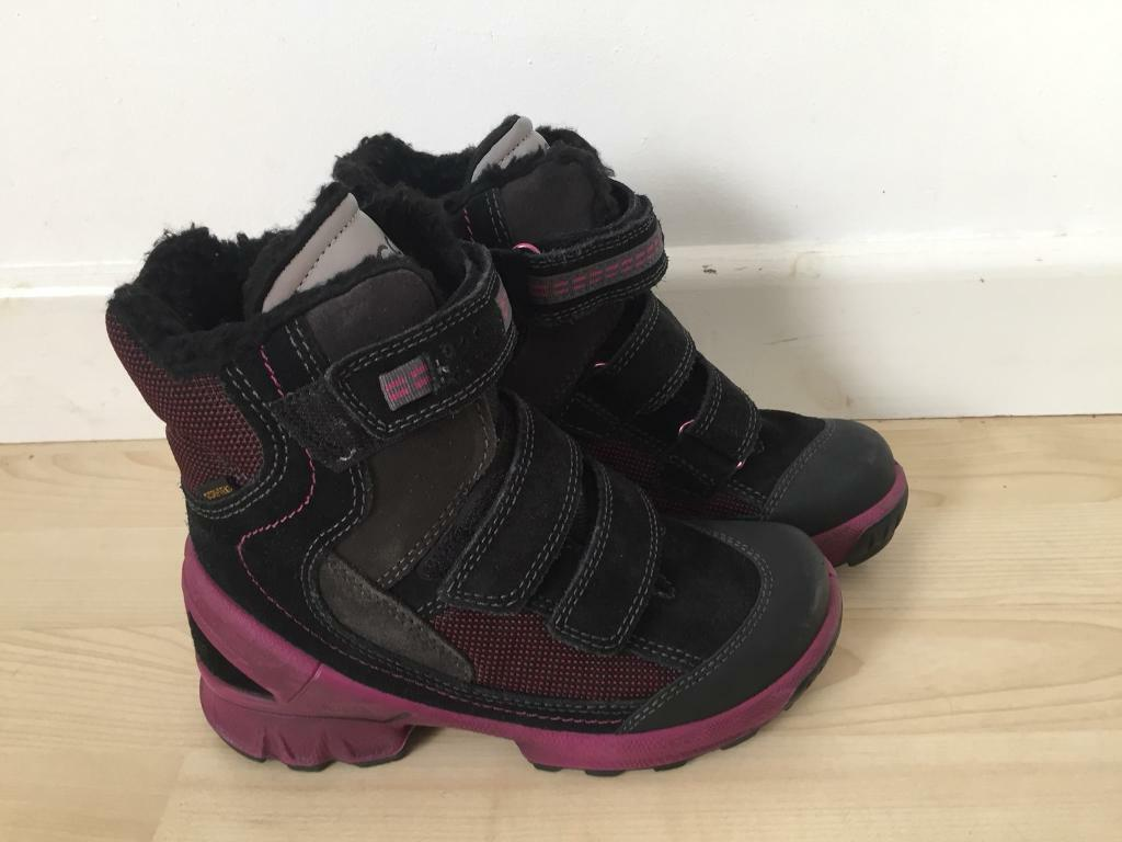 Ecco girls boots size EUR 32, uk 13