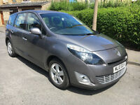 2010 Renault GRAND Scenic Dynamique 1.5 dCi, 65,000 Miles, 7 SEATER, Drive Away