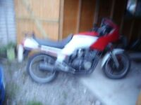 yamaha xj600 barn find complete and untouched