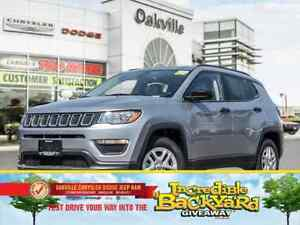 2018 Jeep Compass SPORT | 0% FINANCING UP TO 60 MONTHS OAC |