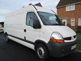 RENAULT MASTER LM35 120dci WHITE, 95,000 miles, Full Electric Pack, Air Con, Low Mileage for year