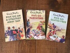 Famous Five Parody Books Set Of Three
