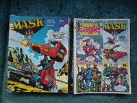 Eagle Magazines/Comics Plus Eagle & Mask Magazines/Comics For Sale