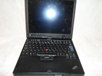Lenovo ThinkPad X61 Tablet - Core Duo 2GB RAM 80 GB HDD