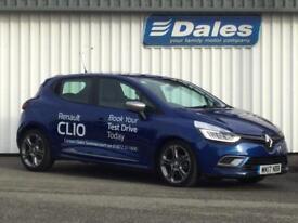 Renault Clio 0.9 TCE 90 Dynamique S Nav 5dr (blue) 2017