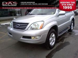 2007 Lexus GX 470 ULTRA PREMIUM NAVIGATION/LEATHER/TV-DVD