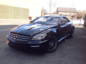 (10 REG),MERCEDES CL500, FULLY LOADED, CL65 AMG BODYSTYLING,FULL MERCEDES BENZ HISTOR,HPI CLEAR