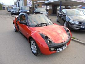 2005 05 smart roadster 700 cc turbo automatic convertible. 30 + cars in stock.