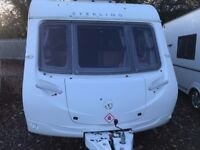 2009 Sterling Europa 540/6 berth Fixed end bunks Everything you need for a family holiday!
