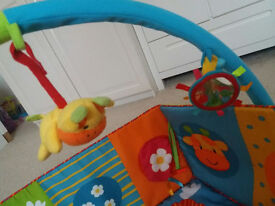 Baby Safari Playmat and Arch,Mothercare