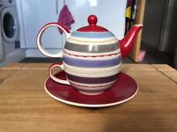 Kitsch Teapot and Cup