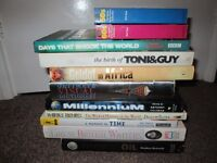 Collection of 11 History Books 1950's 1960's Toni Guy British Writers Millennium Book Lot