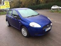 2007 (07) FIAT PUNTO GRANDE ACTIVE 1.2 5 DOOR HATCH BACK SERVICE HISTORY ONLY DONE 77000 MILES