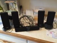 Sony Surround Sound Speakers - 4 Sides, 1 Centre & 1 Sub