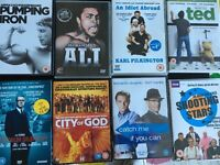 Selection of DVDs for sale - job lot