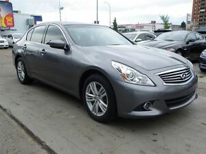 2011 Infiniti G37X Luxury AWD|B.CAMERA|LEATHER|SUNROOF