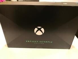 Xbox One X Project Scorpio Edition BNIB