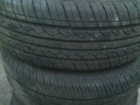 205/55/16 as new tyres