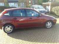 2002 Ford Focus 1.6 Manual 5Doors With 12 Month MOT PX Welcome