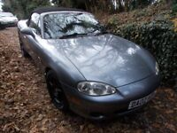 Mx5 mx-5 mx 5. Mk2.5 Limited edition 'Phoenix'. Heated leather. 2002. MOT Oct-18. Looks/drives great
