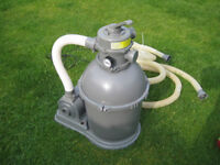 Bestway sand filter/pump (for above ground pool)