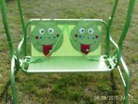 KIDDIES TWIN SWING SEAT