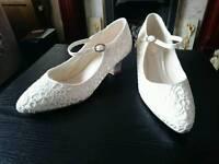 Ladies wedding shoe