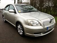 TOYOTA AVENSIS 1.8 T3 S STUNNING CONDITION , AUGUST MOT