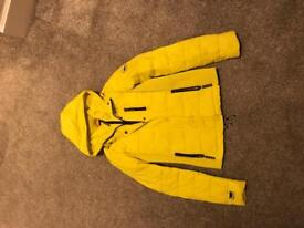 Superdry Yellow Jacket (Bought for £84) - The Fuji Double Zip Size Small (S)
