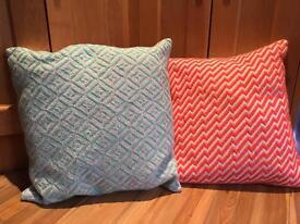 Oliver bonas cushions (four)