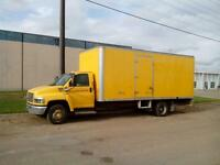 2004 GMC 20 FOOT CUBE VAN BOX TRUCK, 8.1 LITRE GAS, RUNS GREAT!