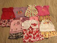 Girl's Clothes Bundle Size 9-12 Months