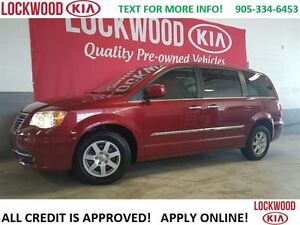 2012 Chrysler Town & Country LOW KM'S, NO ACCIDENT'S DVD, LOADED