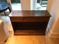Laura Ashley mahogany console table