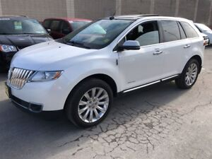 2013 Lincoln MKX Limited, Navigation, Leather, Sunroof, AWD