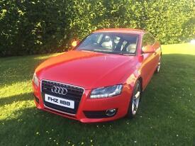Audi A5 Quattro S Line - Red