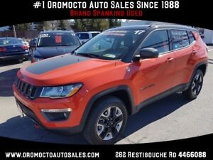 2017 Jeep Compass Trailhawk 4x4 Sunroof,Nav,Heated Leather