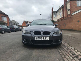 BMW 3 Series 2.0 320D M Sport 2dr Grey Automatic 2008, AUDI A3 FORD FOCUS BMW 1 SERIES VW GOLF POLO