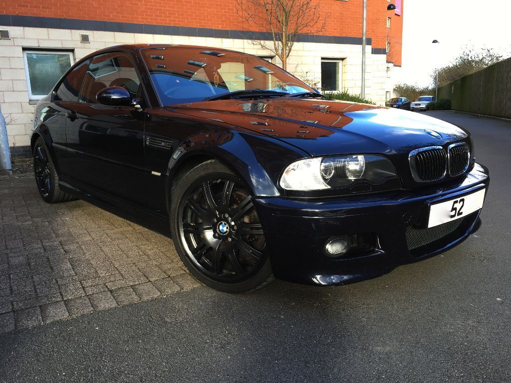 2002 bmw e46 m3 coupe smg 2 auto carbon black petrol
