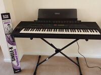 Yamaha PSR 6700 Professional Keyboard with new stand.