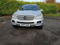 2007 MERCEDES ML320 CDI SE , LOW MILES , FULL SERVICE , IMMACULATE CONDITION