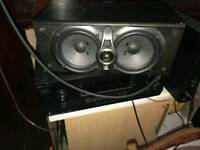5.0 Kenwood speakers system and Sony 7.1 Receiver
