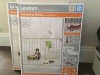 Two new Lindam baby gates