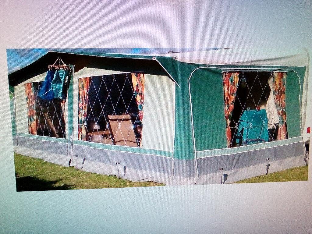 Full Size Caravan Awning - Trio Sport Family 950 | in ...