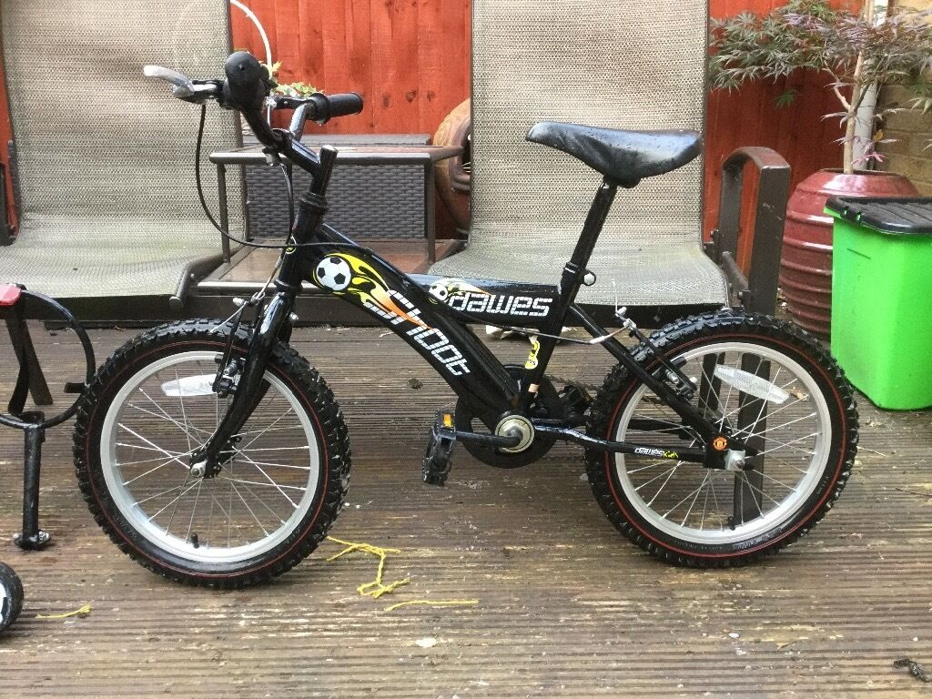 "Boys bikein Banbury, OxfordshireGumtree - Dawes shoot childs bike 16""wheel in vgc.very little use good tyres/brakes and has a football rack you can put on"