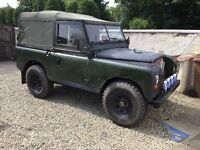 Series 3 1979 soft top land rover 200tdi conversion galvanise chassis lot off work done